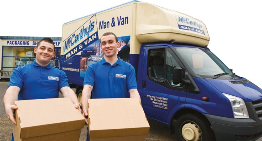 Man With A Van >> Man With A Van Leeds Mccarthys Van Hire