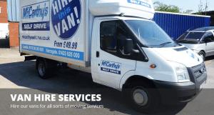 Van Hire Services Slider Image