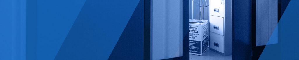 storage unit banner