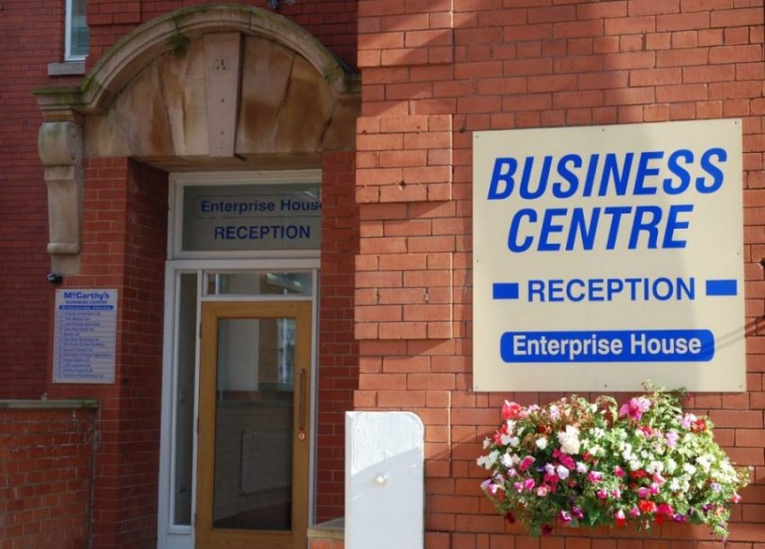 Business Centre Entrance