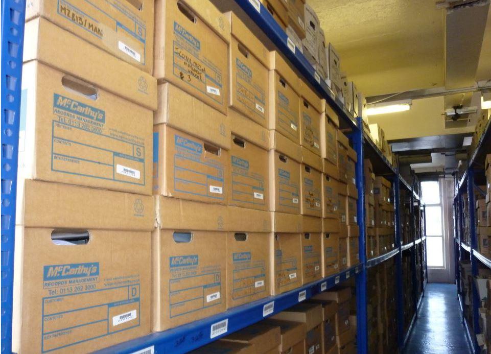 Document Storage Racking