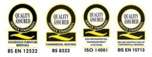 Removal Company Service Standards