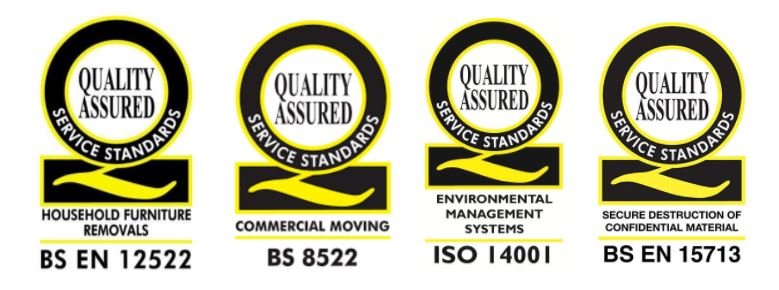 Removal Company Service Standards