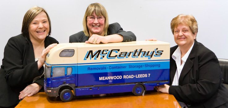 Business moving with McCarthys
