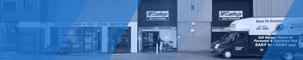 McCarthys Storage World Outside