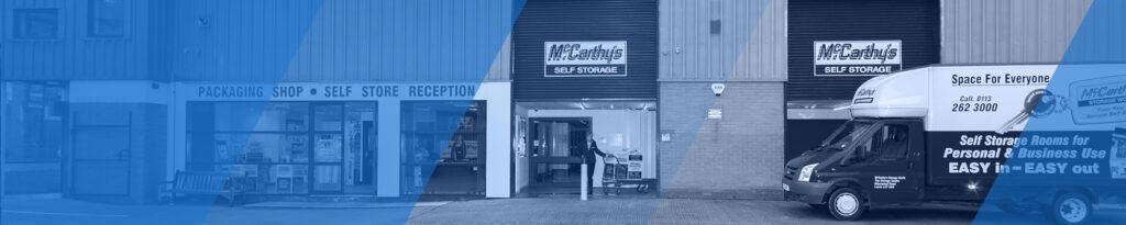 McCarthys Storage World Outside