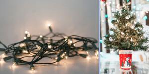 christmas lights banner