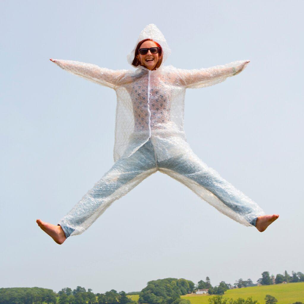bubblewrap suit