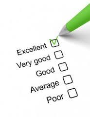 excellent checklist