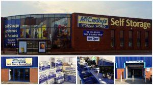 Wakefield self storage collage