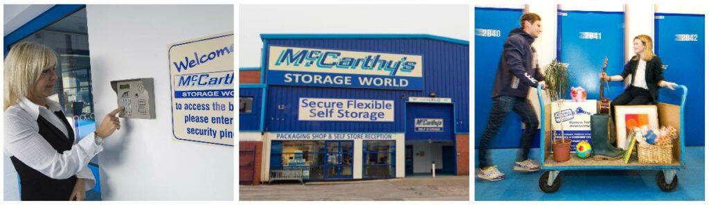 Storage World Leeds Collage