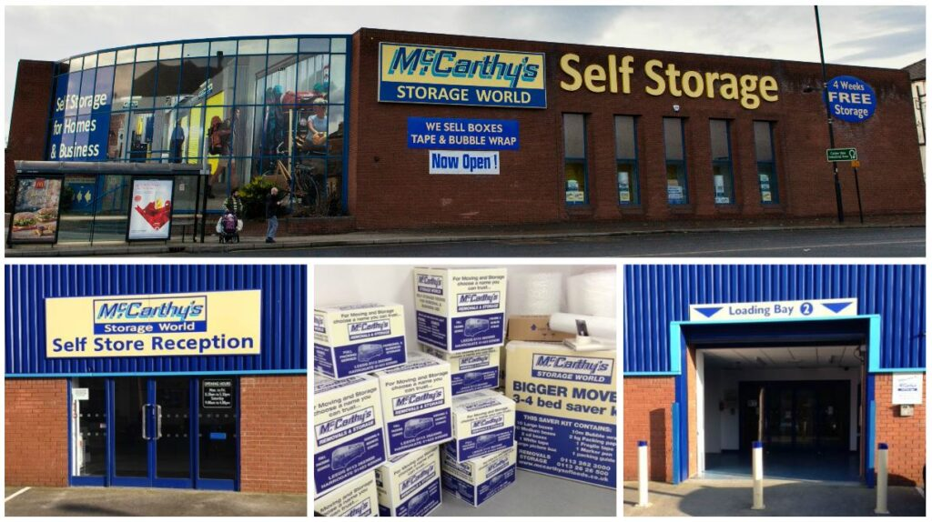 Storage World Wakefield Collage