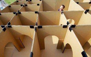 cardboard-labyrynth