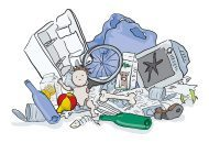 pile of waste