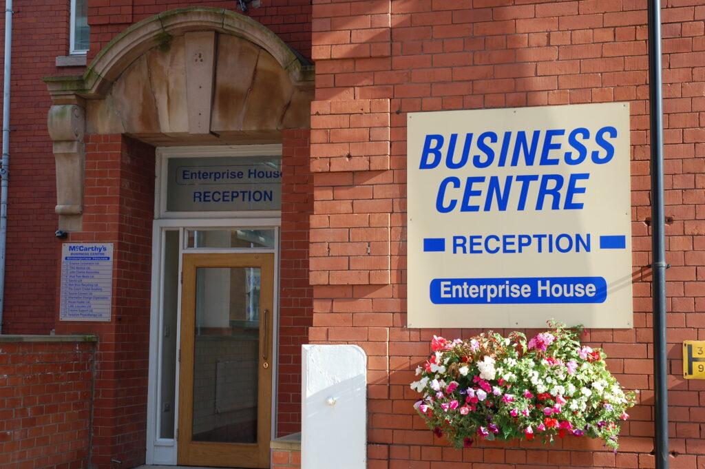 mccarthys business centre entrance