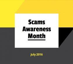 Scam Awareness Month