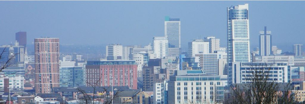 Leeds City Centre Landscape
