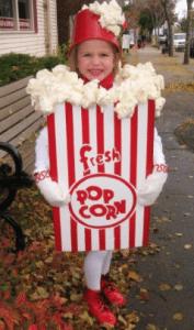 Popcorn Fancy Dress