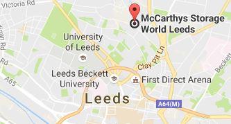 Storage World Leeds Map