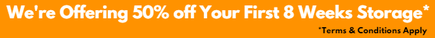 Self-storage banner offer