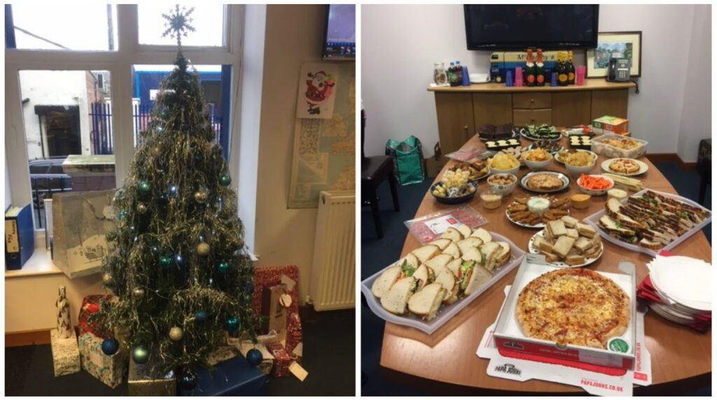 Removals Office Xmas Collage