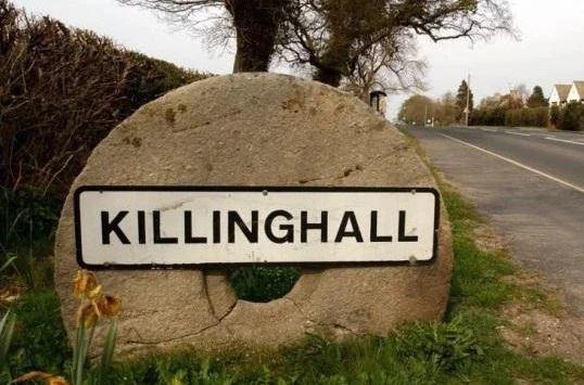 Killinghall sign