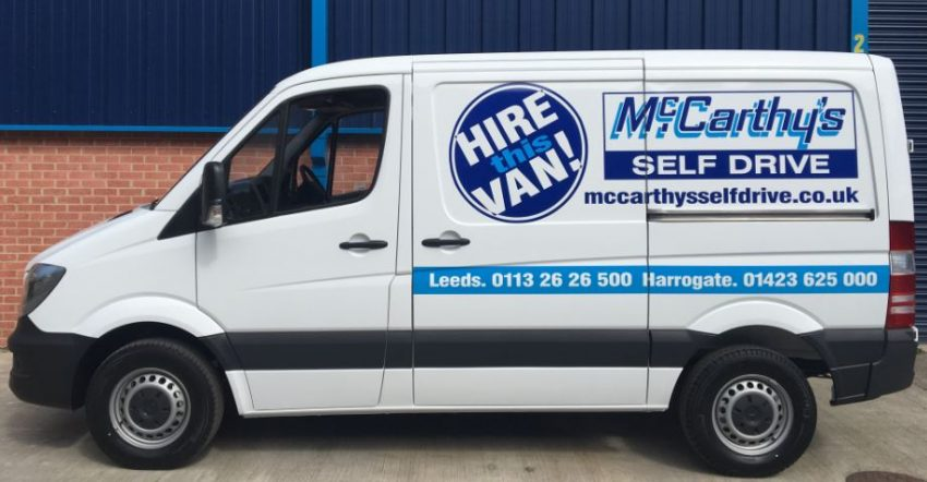 New Hire Van Side