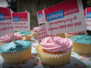 Epilepsy Action Cupcakes