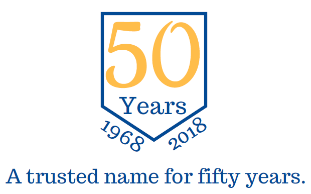 50th Removals & Storage Logo