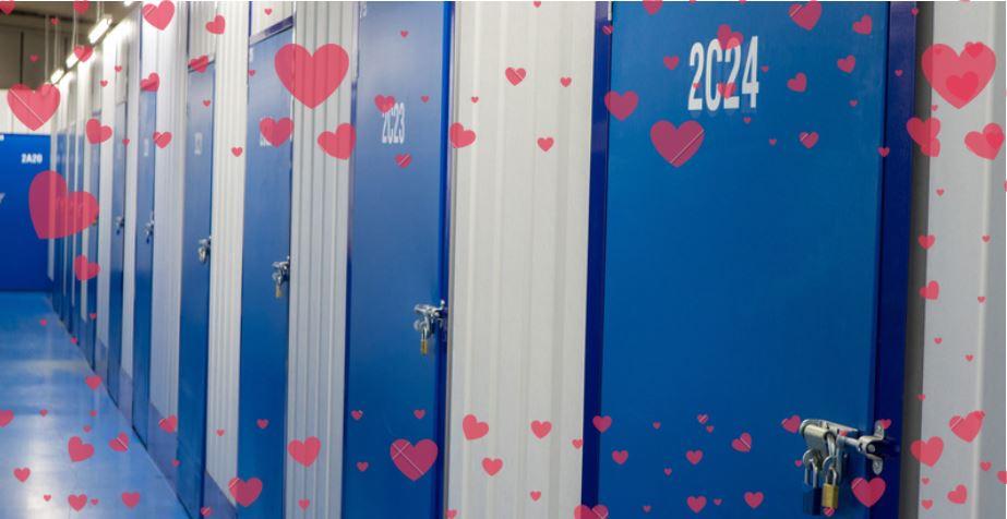 Valentine's Day Storage Banner