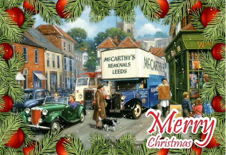McCarthy's Removals Christmas Banner